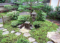 住まいの庭